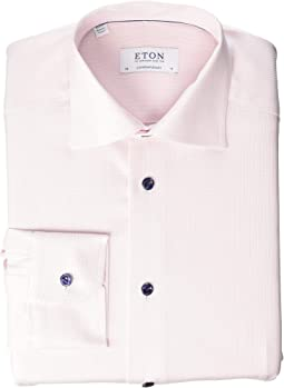 Contemporary Fit Textured Dress Shirt