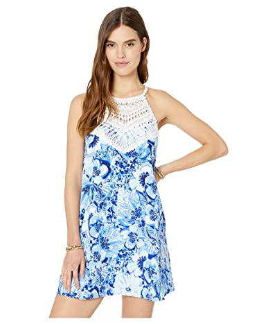 Lilly Pulitzer Pearl Soft Shift (Coastal Blue Catch N Keep Small) Women