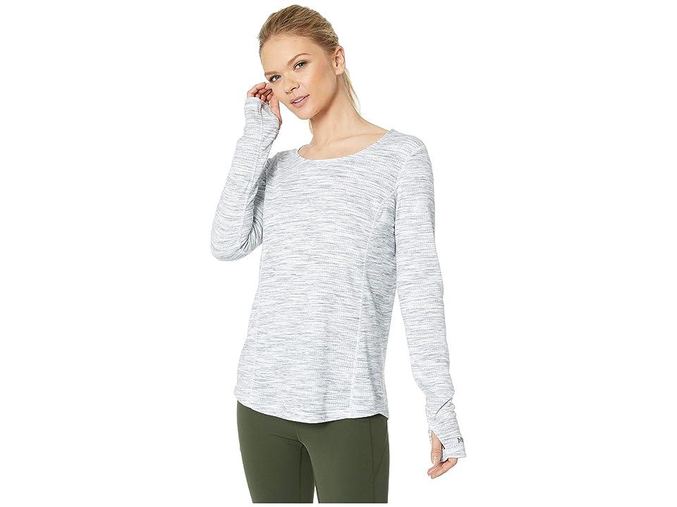 Marmot Taylor Canyon Long Sleeve Top (White) Women