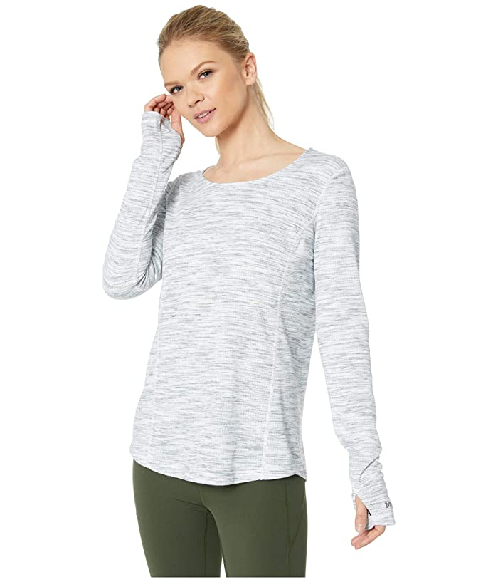 Marmot Taylor Canyon Long Sleeve Top (White) Women