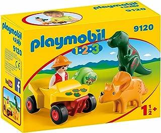 PLAYMOBIL Explorer with Dinos Building Set