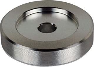 45 RPM Adapter - Aluminum - 7 inch Vinyl Record Dome 45 Adapter