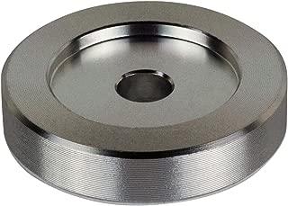 45 RPM Adapter - Aluminum - 7 inch Vinyl Record Dome 45 Adapter