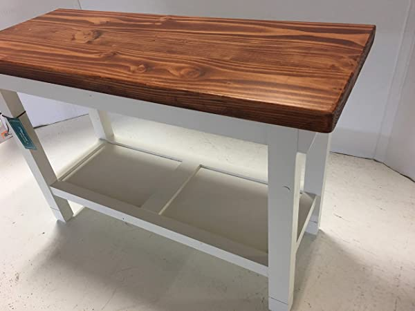Hallway Mud Room Foyer Bench In Your Choice Of Color And Size 30 Inches To 46 Inches