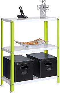 Simonrack 3/400 Home Classic Plus Shelf, Green/White