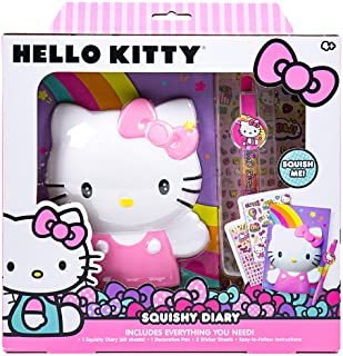 Hello Kitty 94693 Create Your Own Squishy Diary By Horizon Group Usa
