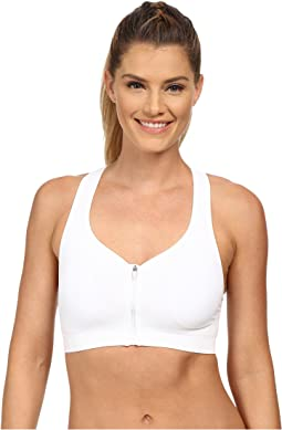 Zip Front High Impact Seamless Bra