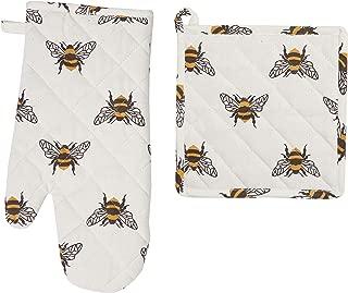 C&F Home Bumble Bee PotHld/OvenMitt St Oven Mitt Set