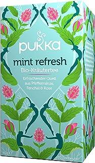 Pukka Bio-Tee Mint Refresh 80 Teebeutel, 4er Pack 4 x 20 beutel