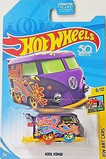 Hot Wheels 2018 Treasure Hunt Hw Art Cars 8/10 - Kool Kombi