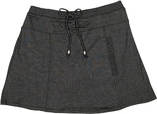 Orangeskycn Women A Line High Waist Zipper Striped Plaid Hip Skirt Short Skirts