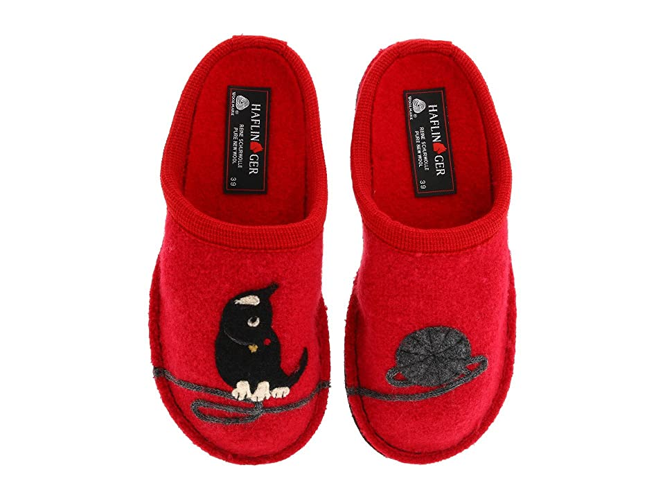 Haflinger Cat Slipper (Red) Women
