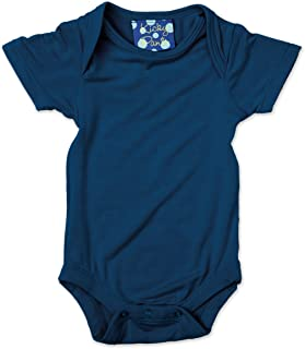 Short Sleeved One-Piece, Twilight, 3-6 Months