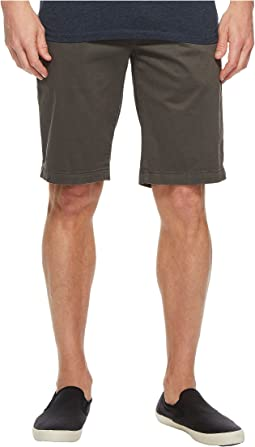 AG Adriano Goldschmied Griffin Shorts in Sulfur Smoke Grey