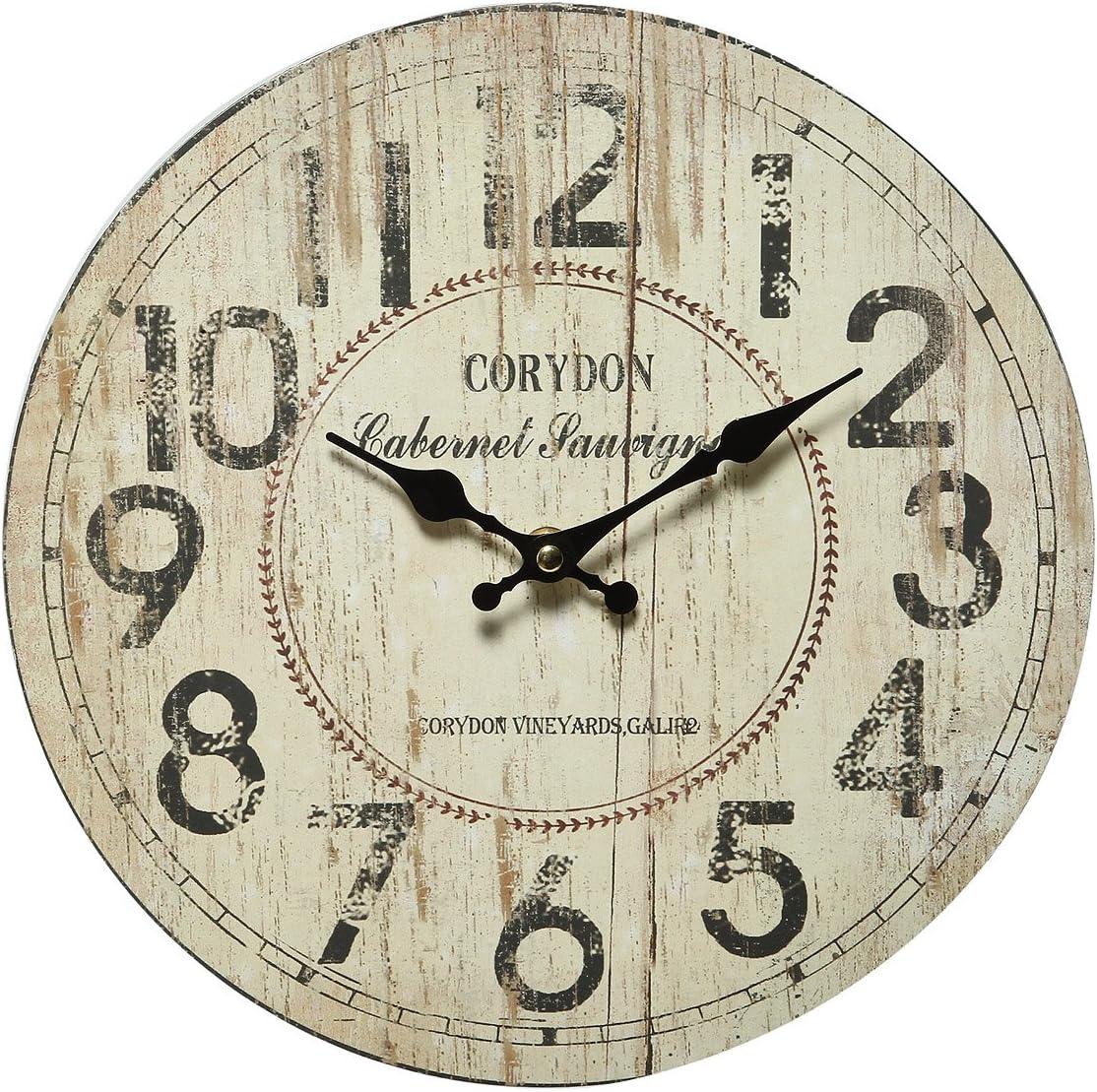 /N softwarego Corydon 84612 - Reloj de pared (28 cm)