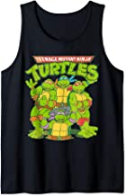 TMNT Classic Logo With All Ninja Turtles Tank Top