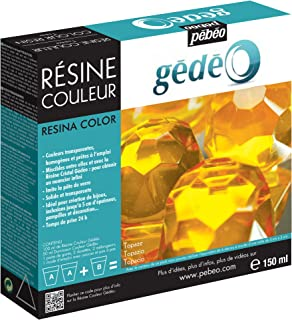 Gedeo 150 ml Color Resin, Topaz