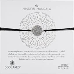 Dogeared - Mindful Mandala Center Square Silk Bracelet