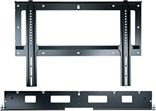Flexson Flat to Wall Mount for TV and Sonos Playbar - Black