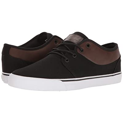 Globe Mahalo (Black Twill/Brown) Men