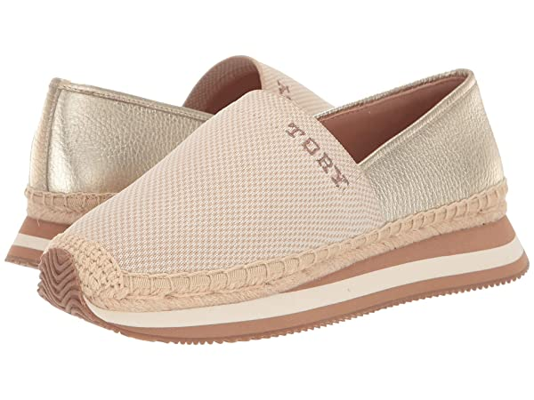 Tory Burch Daisy Logo Slip-On Trainer