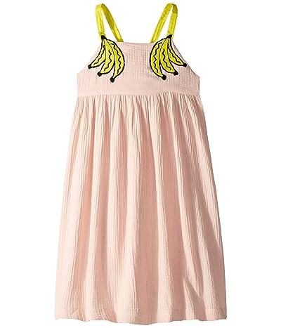 Stella McCartney Kids Banana Patch Dress (Toddler/Little Kids/Big Kids) (Pink) Girl