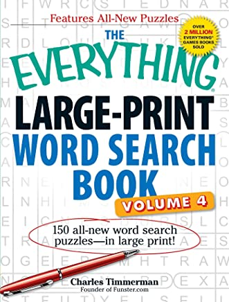 The Everything Large-Print Word Search Book: 150 All-New Word Search Puzzles - in Large Print!: 4