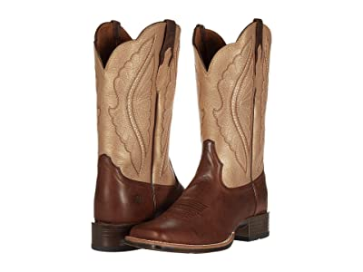 Ariat Primetime (Sassy Brown/Pop Gold) Cowboy Boots