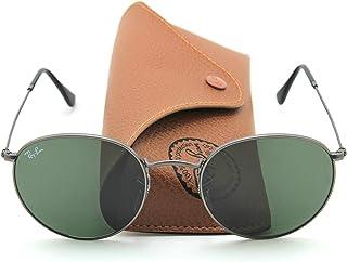 Ray-Ban RB3447 029 Retro Round Matte Gunmetal Sunglasses 53mm