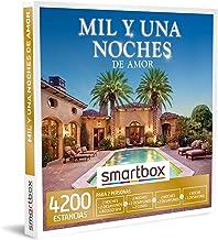 SMARTBOX - Caja Regalo - Mil y una Noches de Amor - Idea de Regalo - 2 Noches con Desayuno y Acceso a SPA o Cena o 1 o 2 Noches con Desayuno para 2 Personas