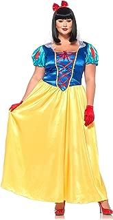 Leg Avenue Classic Snow White Plus Size Dress Costume