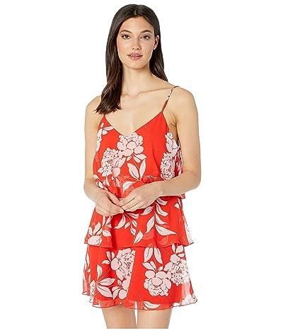 Show Me Your Mumu Suarez Ruffle Dress (Havana Floral) Women