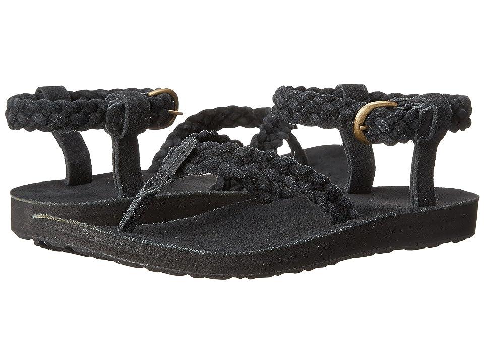 Teva Original Sandal Suede Braid (Black) Women