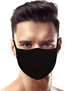 100 Pack Made in USA Unisex Adult Large Eco Friendly 3D Protective Reusable Face Mask – Comfortable and Breathable Mouth a...
