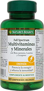 Nature's Bounty Full Spectrum Multivitaminas y Minerales - 60 Comprimidos