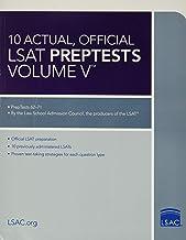10 Actual, Official LSAT PrepTests Volume V: (PrepTests 62–71) (Lsat Series)