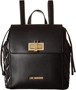 LOVE Moschino - Fashion Quilted Backpack