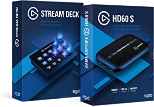 Pro Streamer Bundle: Elgato Stream Deck and Elgato Game Capture HD60 S