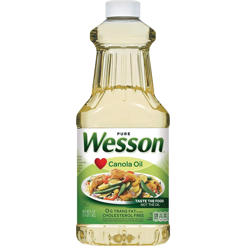 Max 48% OFF Wesson Max 57% OFF Canola Oil Oz Fl 48