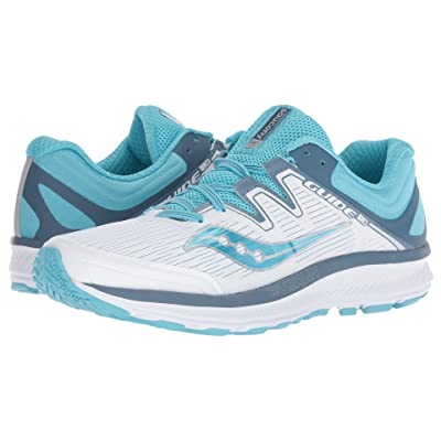Saucony Guide ISO (White/Blue) Women