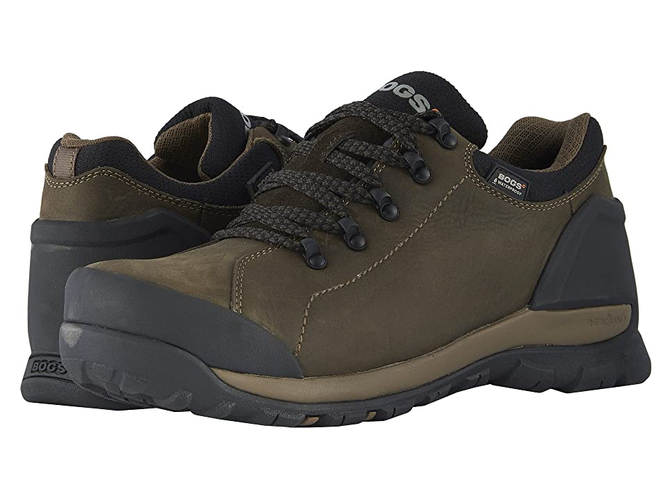 Bogs Foundation Leather Low WP Soft Toe (Brown) Men