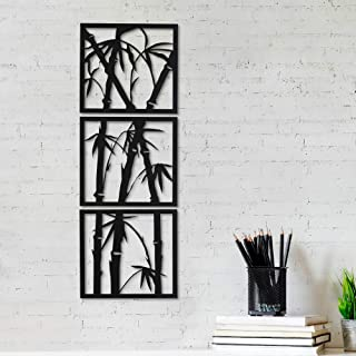 """JaipurCrafts Designer Trees MDF Cutout Ready to Hang Home Décor Wall Art - 8.00"""" * 25.00"""" Pack of 3"""