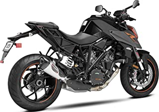 YOSHIMURA 16290BP520 Street ALPHA T Slip-on Exhaust SS-SS-CF with Works Finish for 2014-2017 KTM 1290 Super Duke R, 16290BP520