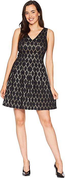 Adrianna papell lace midi fit and flare dress  d7ee5947f