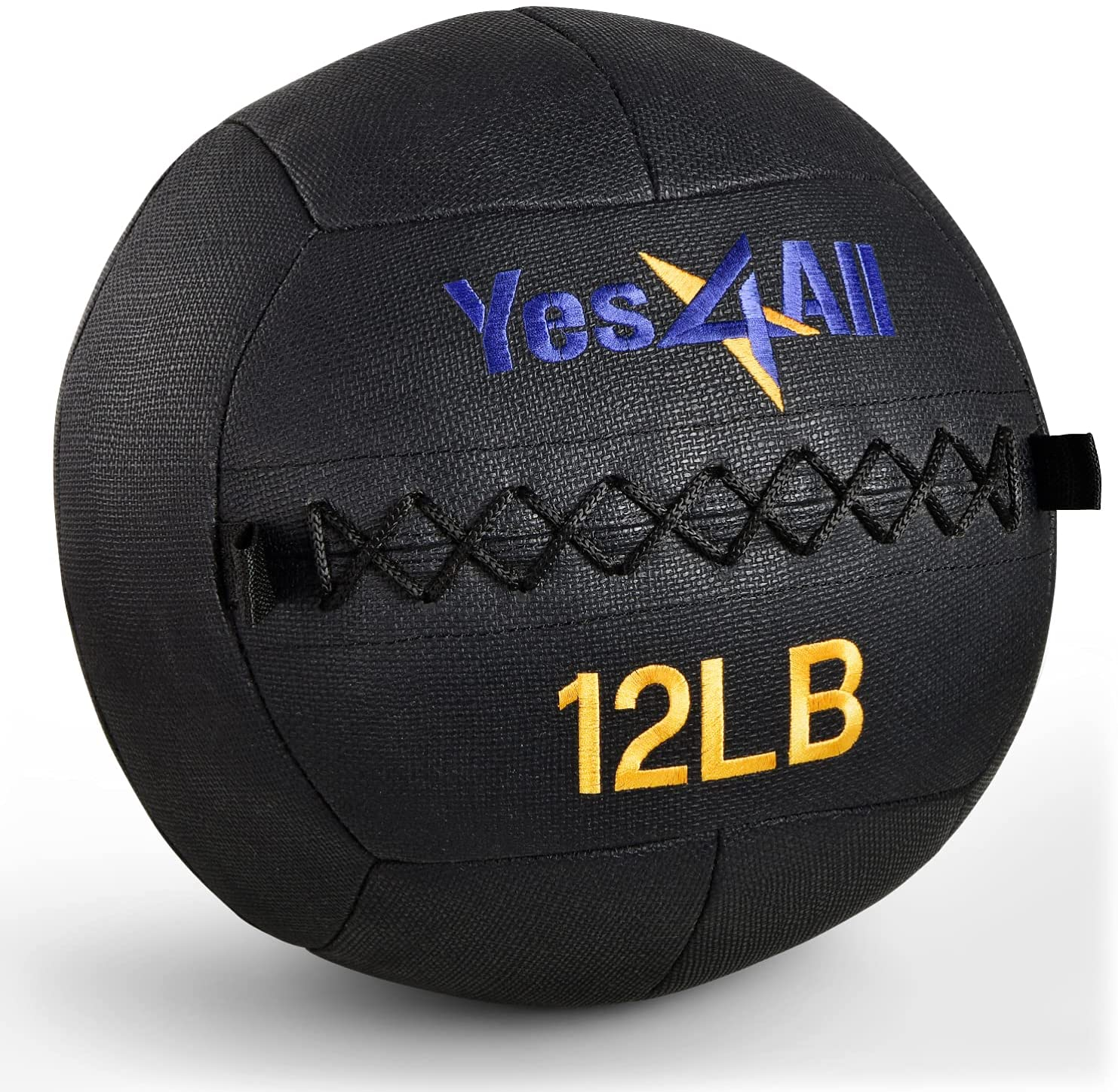 Yes4All Wall Ball free shipping Selling rankings Vibrant Blue Camo - Black Soft Ba Medicine