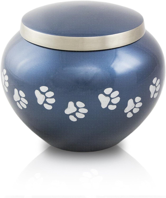Extra Small Odyssey Pet Urns  Midnight bluee
