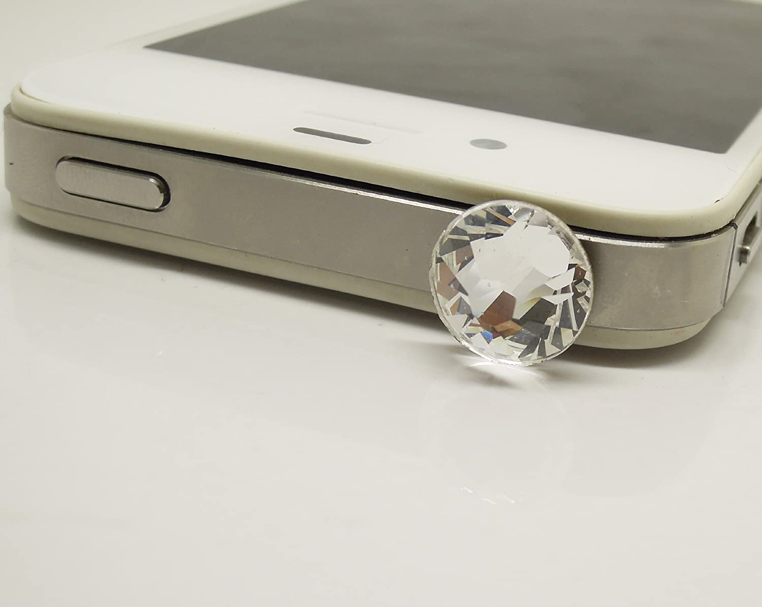 Discount is also underway Gift for Him or Her 1pc Ja Cell Earphone In a popularity Crystal Phone Swarovski