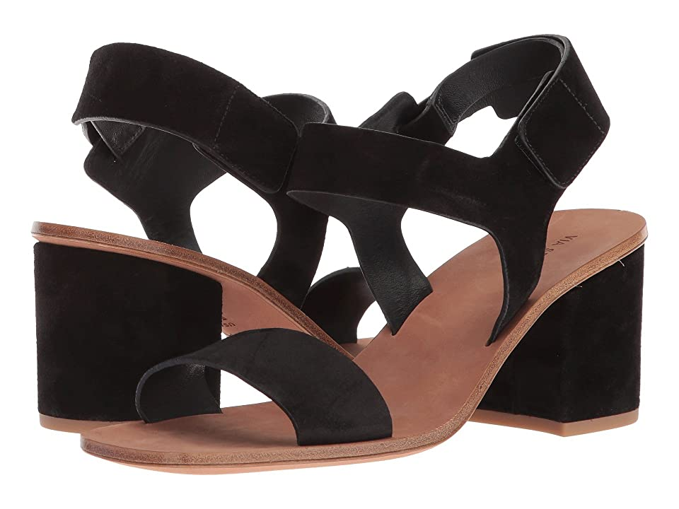 Via Spiga Kamille (Black Suede) Women