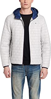 Tommy Hilfiger Men's Sweaterweight Ultra Loft Hooded Packable Puffer Jacket