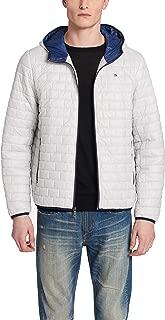 Men's Sweaterweight Ultra Loft Hooded Packable Puffer Jacket